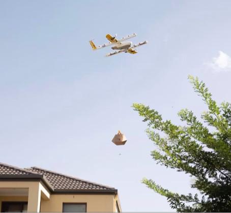 'Wing' liefert Pakete per Drohne bis zur Haustür