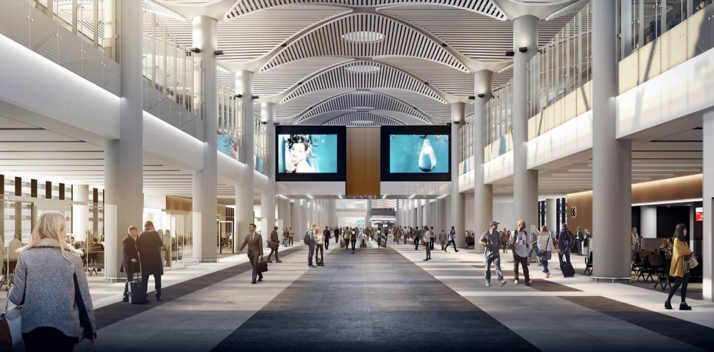 Istanbul Flughafen Design