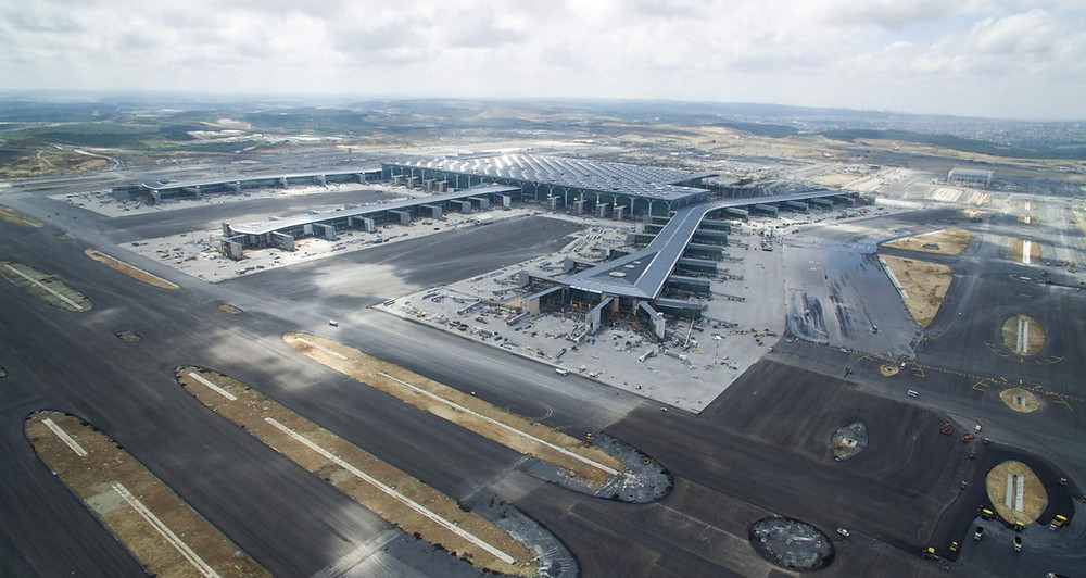 Istanbul Flughafen Baustelle