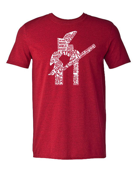 Rockford Symbol Distressed T-Shirt Mock