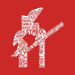 Rockford Symbol Distressed T-Shirt
