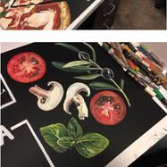 Whole Foods Market™ chalk art, 2017
