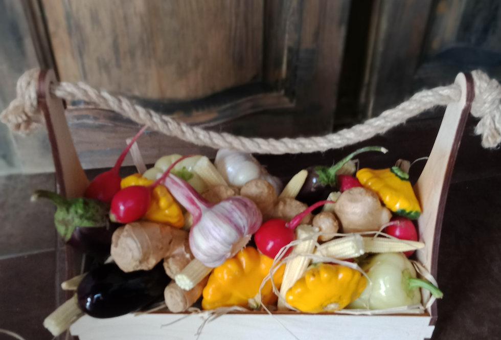 . Подарок для вегана  состав: набор овощей в ассортименте  1.5 кг