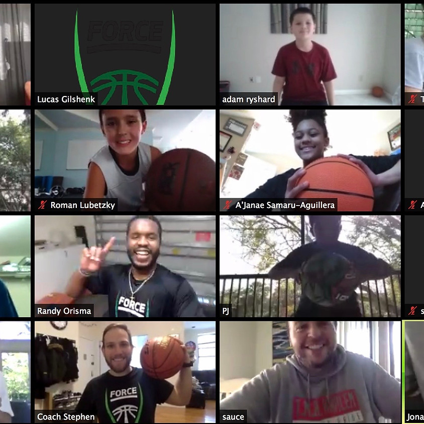 FORCE DENVER - HALL OF FAME WORKOUT (One Basketball Required)