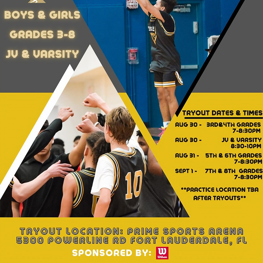 FORCE MIAMI BALL - FALL TRYOUTS