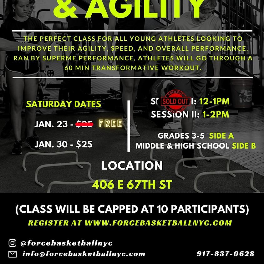 Strength & Agility FREE CLASS Session I