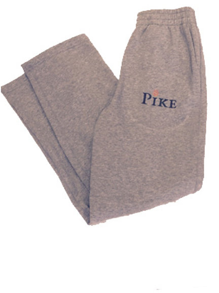 Sport-Tek® Open Bottom Sweatpant Sports Grey