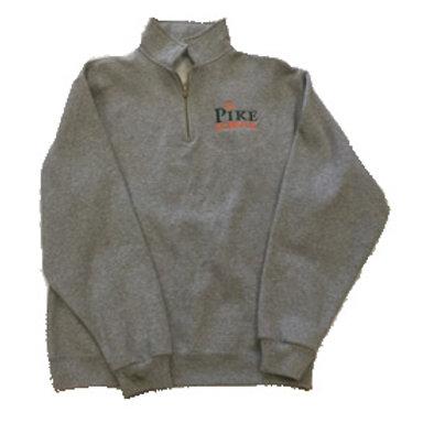 JERZEES® - 1/4-Zip Cadet Collar Sweatshirt Grey