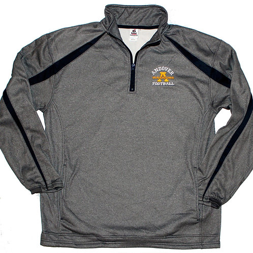 Badger 1/4 Zip Fusion Graphite/Navy