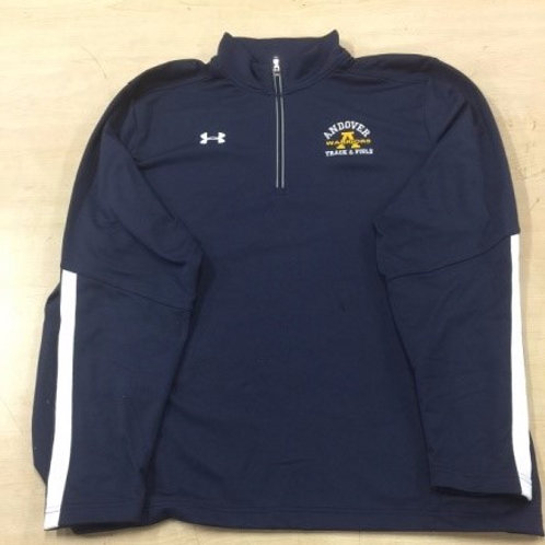 Under Armour Qualifier 1/4 Zip Pull Over Navy