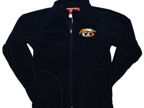 Men's Campus Microfleece Full Zip Jacket Navy