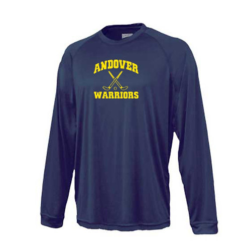 Navy Sport Tek Performance Long Sleeve T-Shirt
