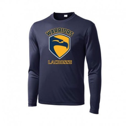 Andover solid Long Sleeve navy Performance Tee