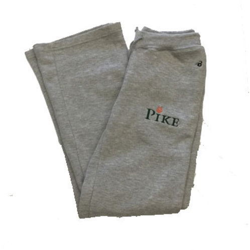 Badger Ladies Pocketed Open Bottom Pant Grey