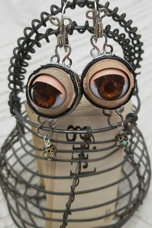 Dolly Eye Earrings - Med.
