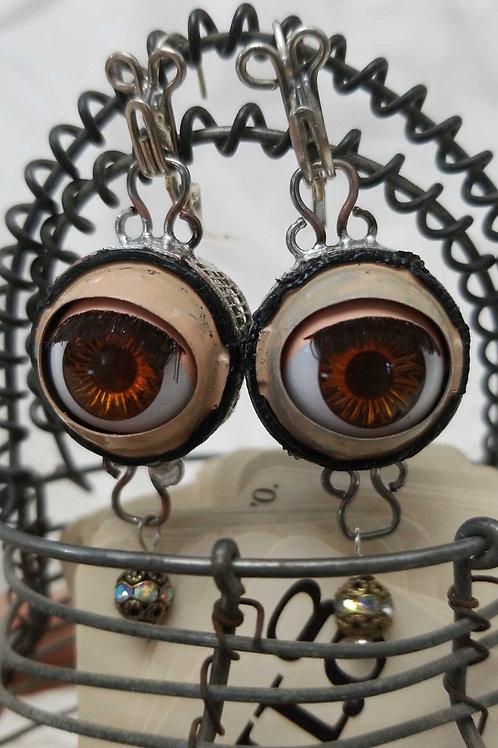Dolly Eye Earrings - Large