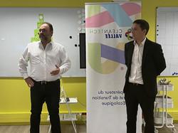 Sylvain Pradal et Philippe Junca