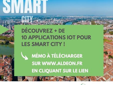 """Découvrez notre dossier : """"Smart City, plus de 10 applications IoT"""""""