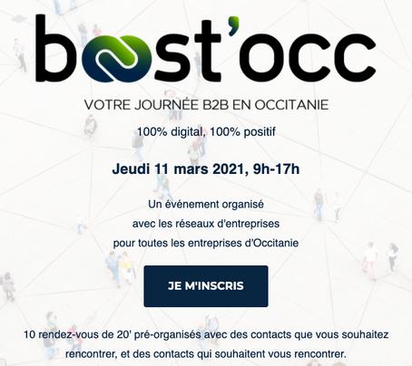 Rdv avec Aldeon et Alfileo jeudi 11 mars pour un speed business meeting virtuel spécial Occitanie !