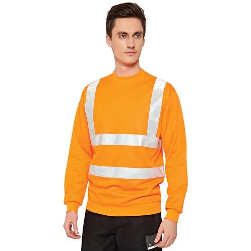 Hi-Vis Reflektörlü Sweatshirt