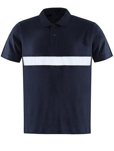 Reflektörlü Polo Yaka Tişört