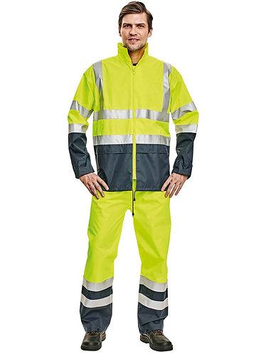 Cerva Epping Reflektörlü Yağmurluk Ceket Sarı/Lac.