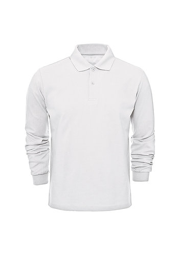 Polo Yaka Uzun Kollu Tişört Erkek