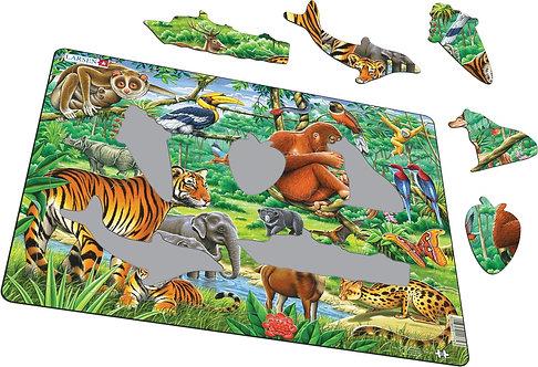 Larsen puzzle Džungla