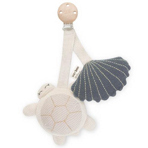 Závesná hračka na kočík z organickej bavlny Tilly the Turtle