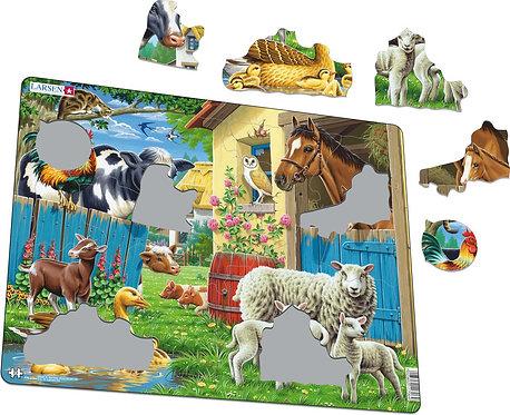 Larsen puzzle Domáce zvieratá