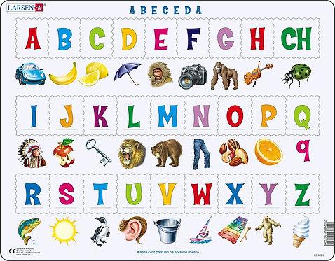 Larsen puzzle Abeceda slovenská