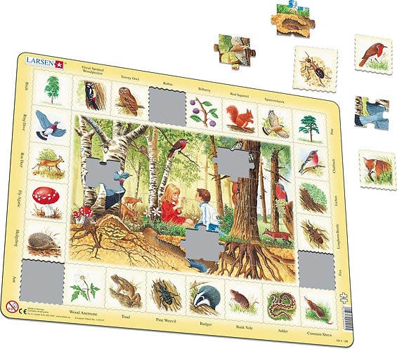 Larsen puzzle Príroda Les (slovenská verzia)