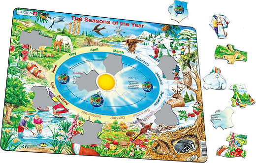 Larsen puzzle Ročné obdobia (slovenská verzia)