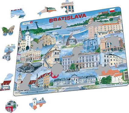 Larsen puzzle Bratislava (slovenská verzia)