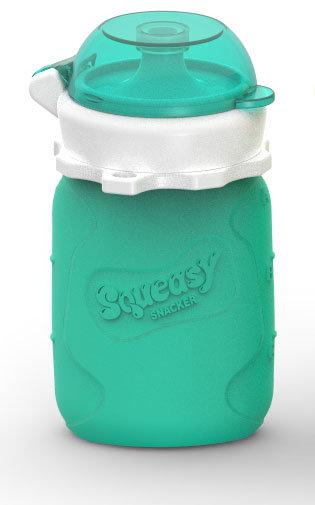 Silikónová kapsička Squeasy Snacker 104ml - 3 farby