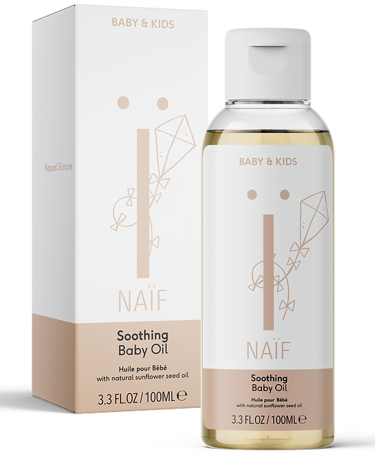 NAÏF Upokojujúci olej pre deti