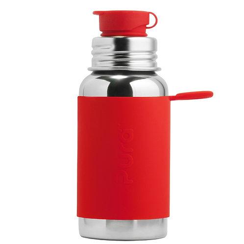 Pura® nerezová fľaša so športovým uzáverom 550ml