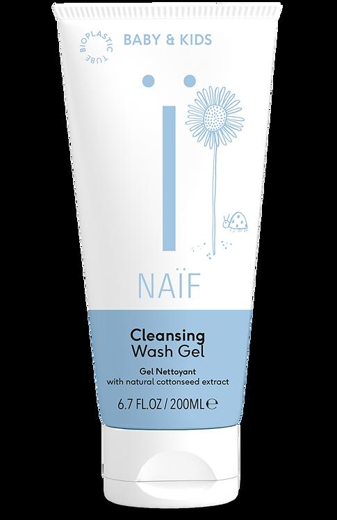 Čistiaci a umývací gél pre deti a bábätká NAIF