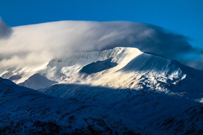 Aonach Mor in the snow