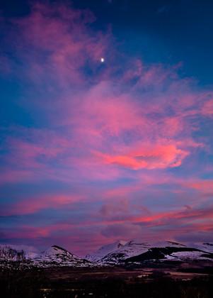 Grey Corries Sunset