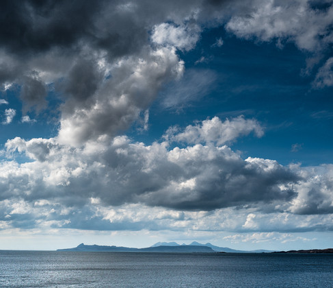 Skies over Eigg and Rum