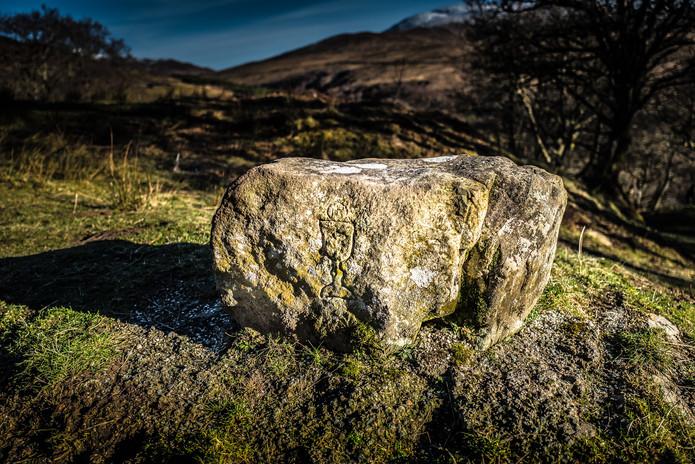 Glen Roy Mass Stone