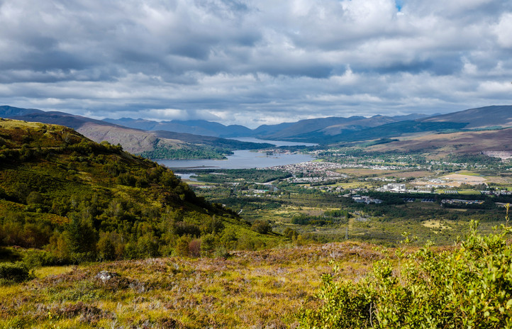 Fort William from the Puggy Line