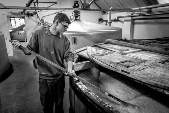 Kevin Cameron, Masher, Ben Nevis Distillery