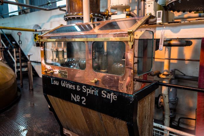 Ben Nevis Distillery Spirit Testing