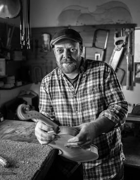 David Sutherland, Luthier. Upper Inverroy