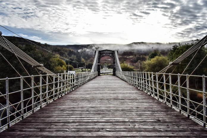 Victoria Suspension Bridge (1854), Aberchalder