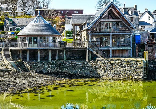 Mallaig's Old Quay Bakehouse and Crannog