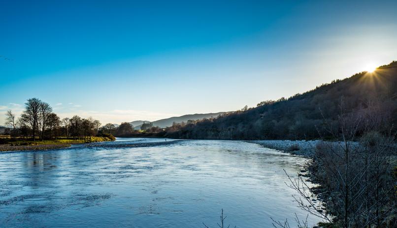 River Lochy at Gairlochy