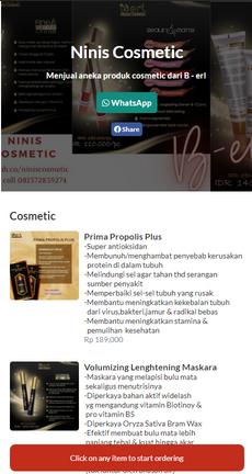 Ninis Cosmetic